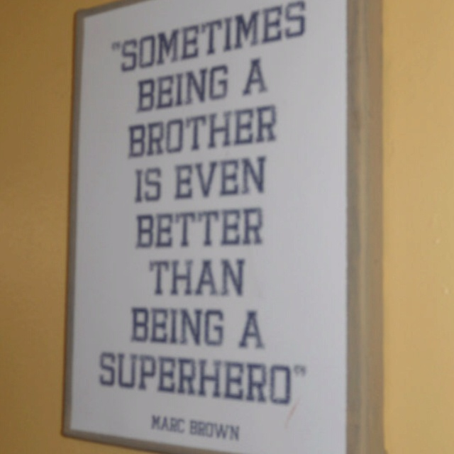 Perfect!!Child Room, Bathroom Design, Boys Bathroom, Boys Bedrooms, Big Brothers, Baby Boys, Funny Little Brother Quotes, Boys Room, Superhero