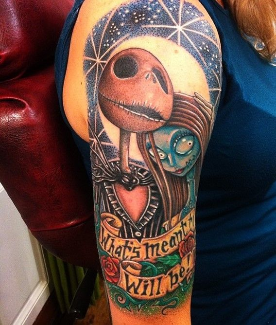 76 best tim burton inspired tattoos images on pinterest for Shave before tattoo