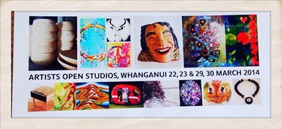 "Artists Open Studios Whanganui ""The Arts capital of New Zealand"" Date: 29th and 30th of March Time: All Day Location: Whanganui. The Whanganui Artists Open Studios is an annual event run by The Whanganui Arts Marketing and Development Trust, a Non-profit Trust. Whanganui brings art, food and entertainment together for two amazing weekends set in heritage town on the banks of the Whanganui river."