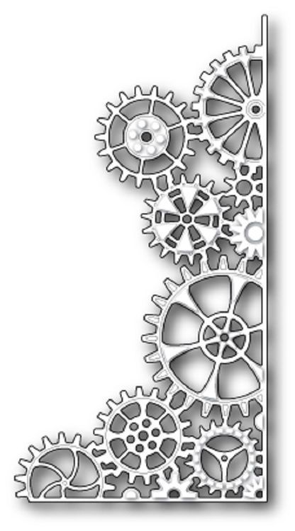 Memory Box Die - Steampunk Corner | Diseños cameo 3 | Pinterest ...