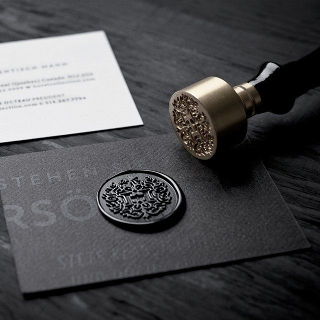 Custom Wax Seal Stamp. Men needed to start writing letters again.