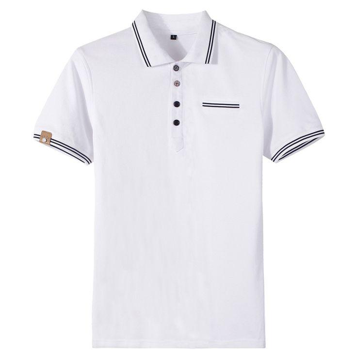 Дешевое 2015 новое поступление мода высокое качество летние мужчины мода хлопок свободного покроя футболки рубашки короткий рукав размер M 2XL.P002, Купить Качество Футболки непосредственно из китайских фирмах-поставщиках:        Пункт специфика