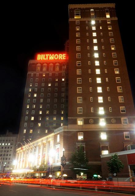Providence Biltmore Hotel RI Source PWCVB Built In 1922