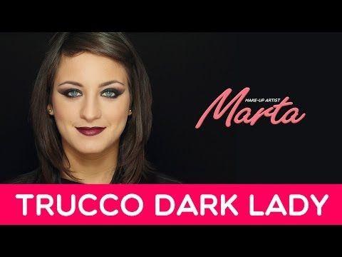 Come truccarsi per Halloween   Make-up Dark Lady   Marta Make-up Artist
