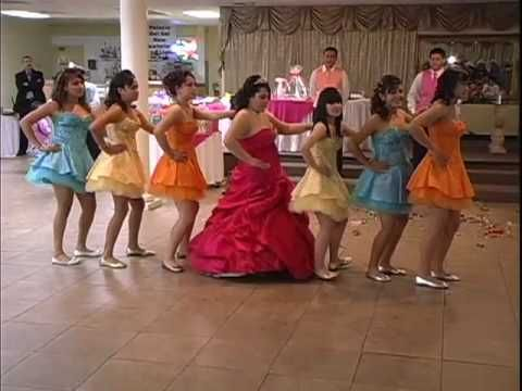 Quinceanera Party. Fun dance. These girls are having a ball! #quince