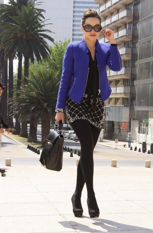 Vestir con el color Azul Eléctrico este Otoño