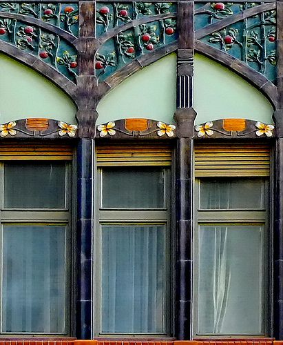 House of Hungarian Secession, Varehagy, Budapest - Hungary