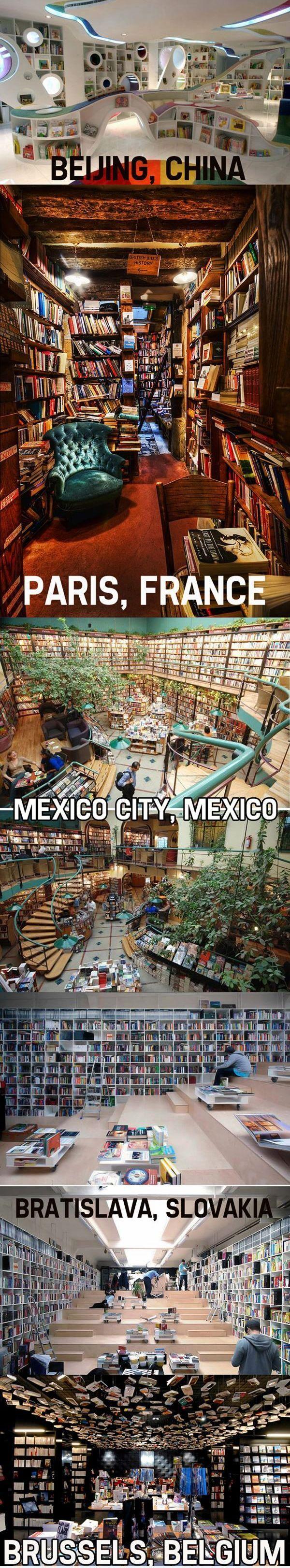 Amazing libraries around the world