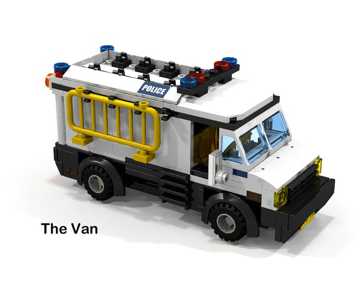 LEGO Ideas - Lego City Police - Investigation Team, Laboratory and Van