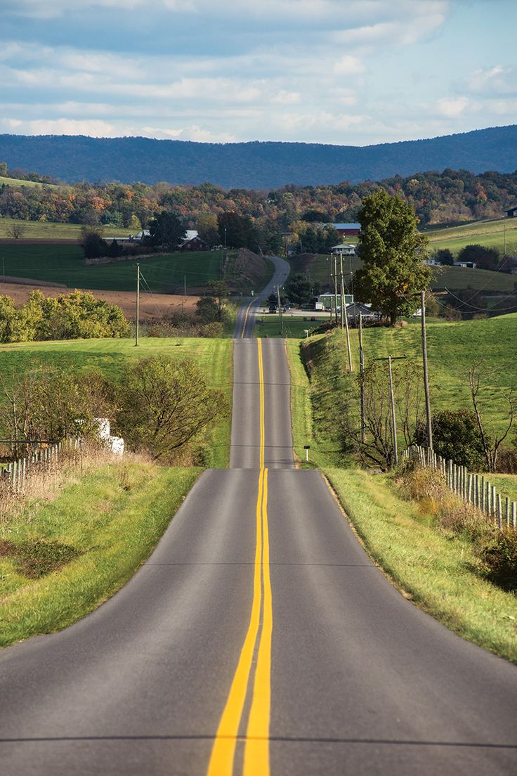 Virginia's Skyline Drive, the 105-mile, two-lane road that threads through the Shenandoah National Park.