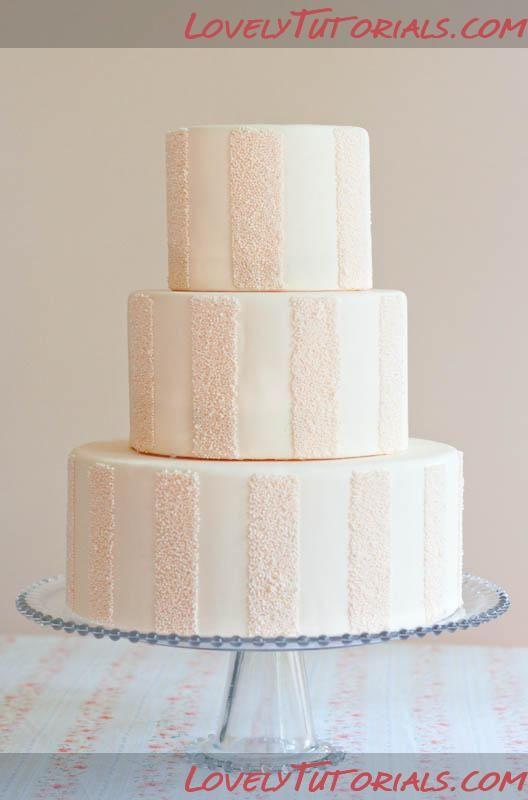 Striped Cake Sprinkle