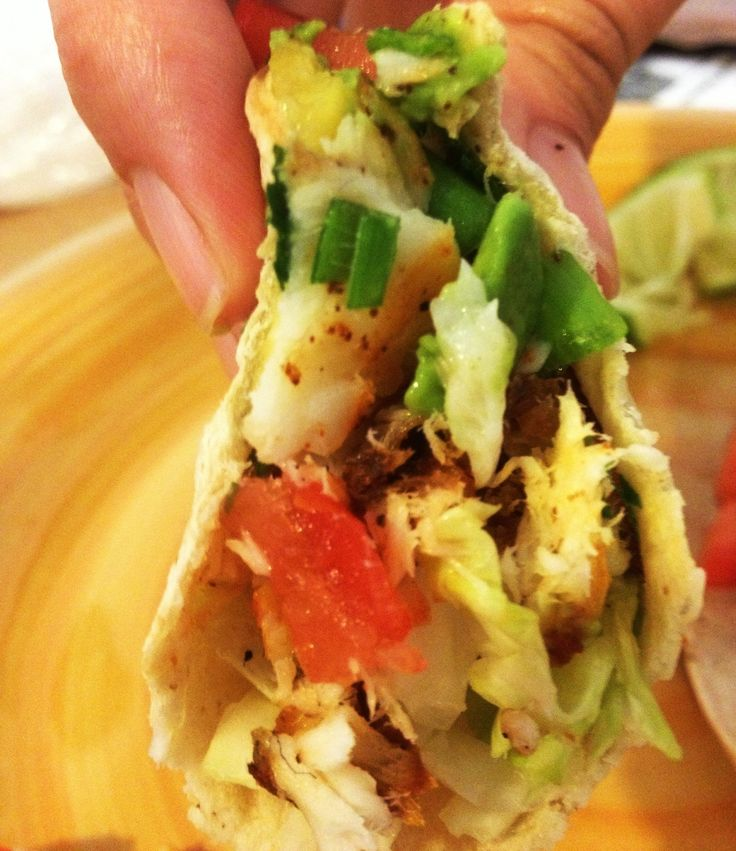 236 best images about tacos tacosalads recipes on pinterest for Fish tacos recipe easy