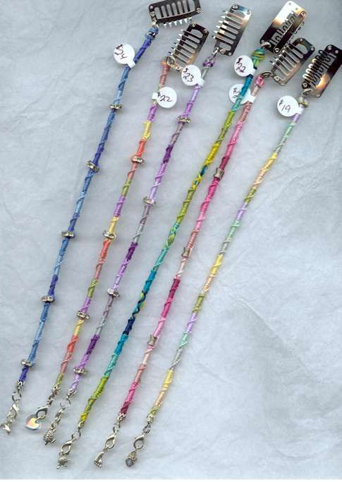 hair wrap with beads                                                                                                                                                                                 More