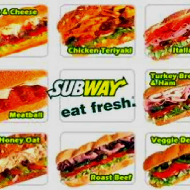 getting outta the ER craving subway #eatfresh here I come turkey sandwich