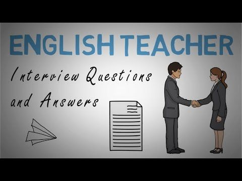 teaching job interview questions and answers pdf