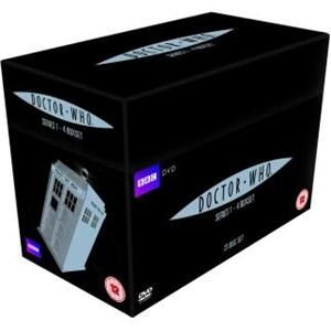 Doctor Who (New Series): Complete Series 1 - 4 Box Set (23 Discs)