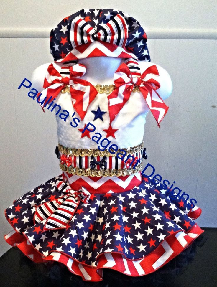Custom Made For U National Pageant Casual Wear Sizes 1T-6 by PageantPizazz on Etsy