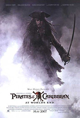 Pirates Of The Caribbean: At Worlds End - Authentic Original 27 x 40 Movie Poster @ niftywarehouse.com #NiftyWarehouse #PiratesOfTheCarribbean #Pirates #Movies #Pirate