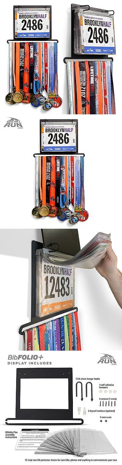 Other Fitness Clothing 158920: Gone For A Run Bibfolio Plus Race Bib And Medal Display | Wall Mounted Medal ... -> BUY IT NOW ONLY: $47.52 on eBay!
