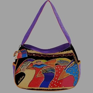 Image detail for -Buy Laurel burch sky spirits medium hobo - Laurel Burch Bags N Scarves ...
