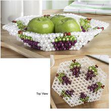 Fruit Dish Bubble Beads Kit - Herrschners