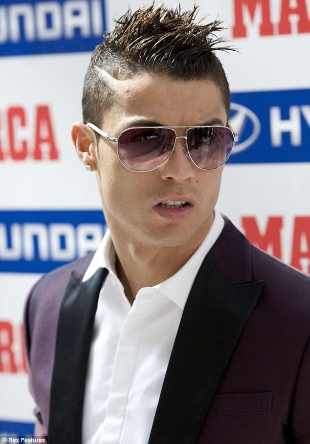 Christiano ronaldo hairstyles...Manchester United...messin,el shaarawy,,christiano ronaldo hair,Cristiano Ronaldo hot hairstyle become a fashion and style icon for his fans.