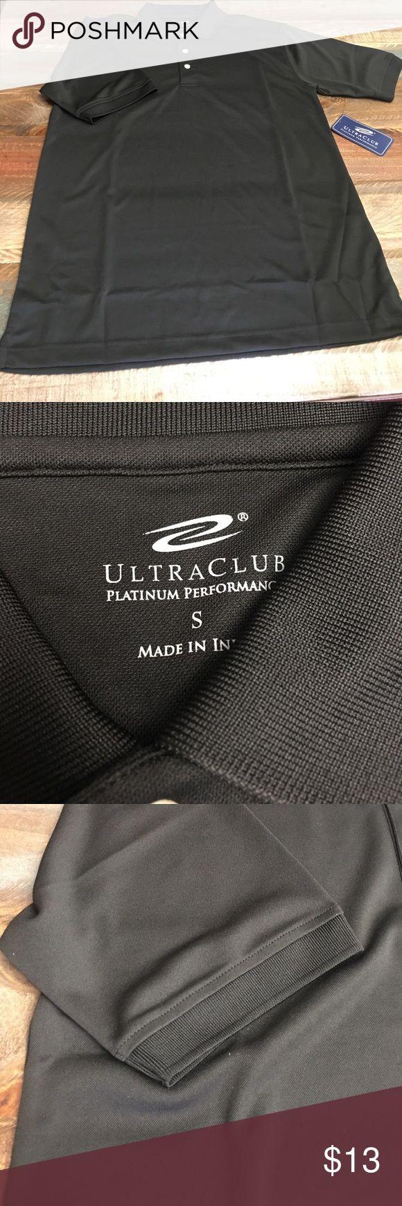 NWT men's shirt Brand new men's black shirt.. platinum performance .. Shirts