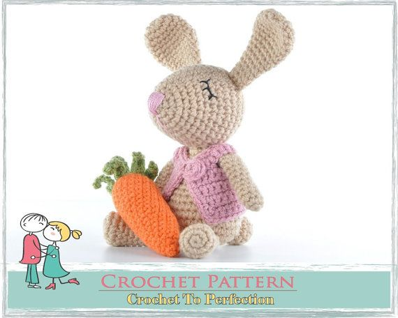 Amigurumi Pattern Amigurumi Bunny Pattern Amigurumi Crochet