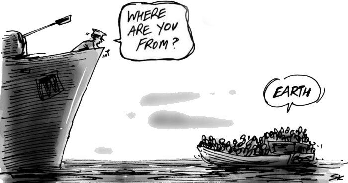 The refugee crisis in Europe is showing that humans helping each other, irrespective of national boundaries, is often the most effective form of action. http://www.filmsforaction.org/articles/there-are-no-migrants-just-humans/