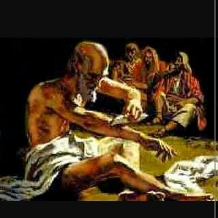 (Part 5) Job 2:12-13 When they saw him from a distance, they could hardly recognize him; they began to weep aloud, and they tore their robes and sprinkled dust on their heads. Then they sat on the ground with him for seven days and seven nights. No one said a word to him, because they saw how great his suffering was.