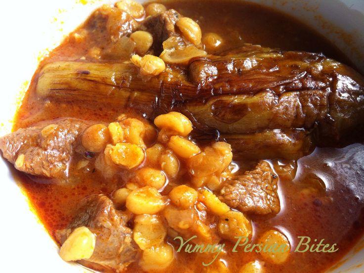 "Khoresht-e Bademjaan ""Eggplant Stew"""