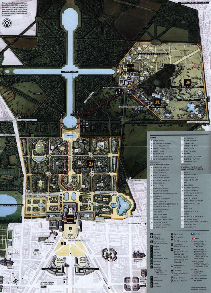 https://flic.kr/p/HafvxS | Map Estate of Versailles; 2016_2, Yvelines co., Ile-de-France, France | mapa carte carta karta kaart térkép 地图 地圖 карта 지도 kartta  地図 नक्शा แผนที่ رسم خريطة