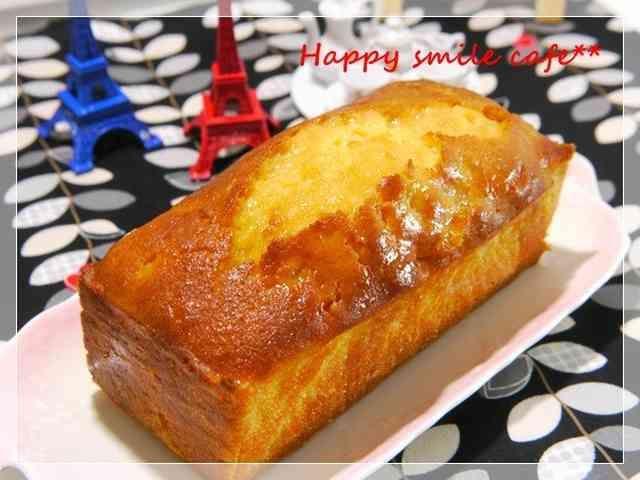 金柑甘露煮のパウンドケーキ