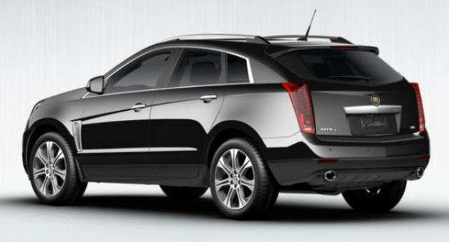 2016 Cadillac SRX Exterior