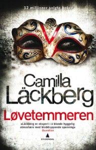 Bokforside: Løvetemmeren / Camilla Läckberg