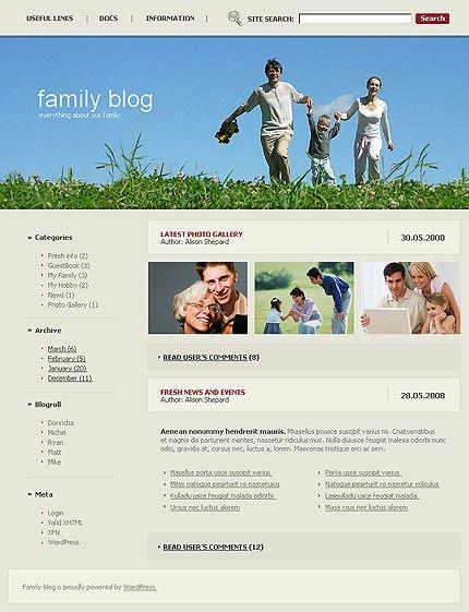 Kids Blog WordPress Themes by Delta