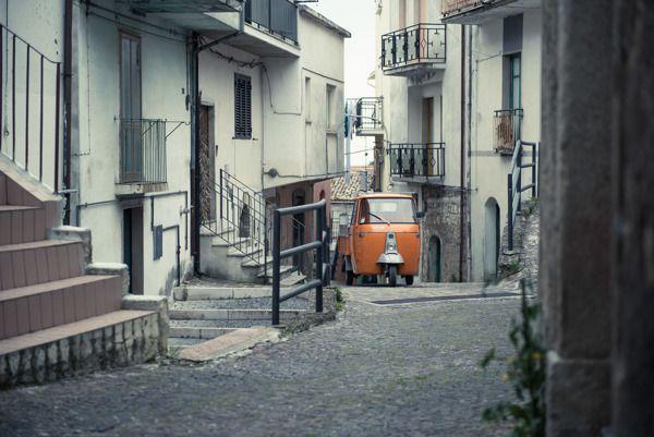 Montefalcone nel Sannio by Christian Boo, via Behance