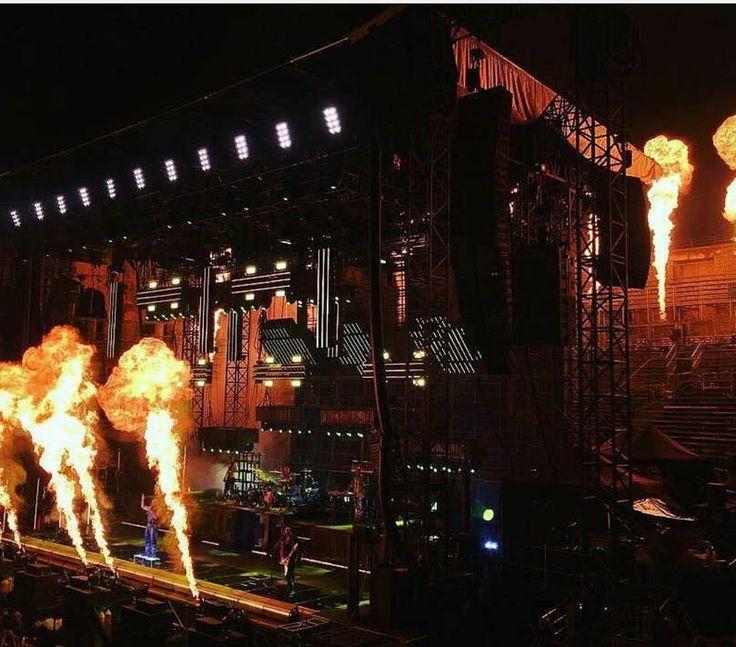 Epic Firetruck's Rammstein ~ Festival De Nimes, Nimes, France ~