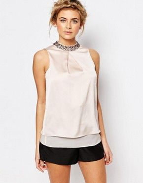 Top con cuello alto Leni de Coast