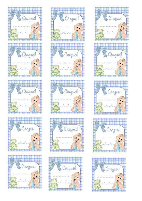 11 best cha de fraldas images on pinterest shower baby baby boy cantinho dos rtulos arte tags para lembrancinha de nascimento meninos e meninas grtis stopboris Gallery