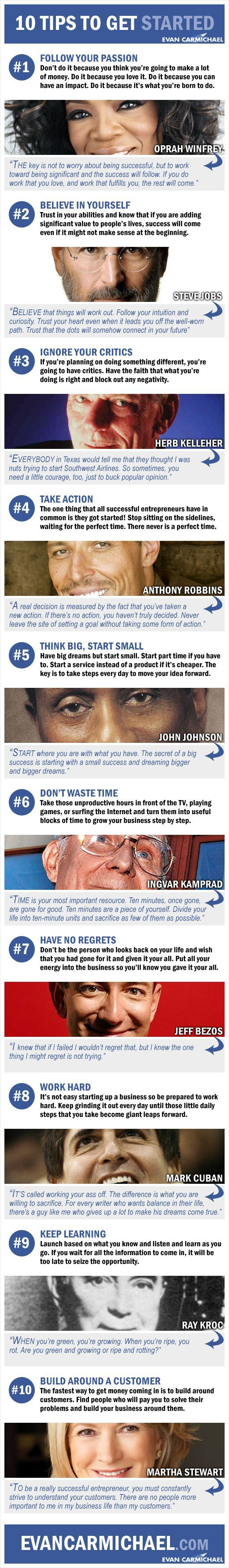 10 Life and Business Tips from Famous Celebrities! #4 is our Favorite! -