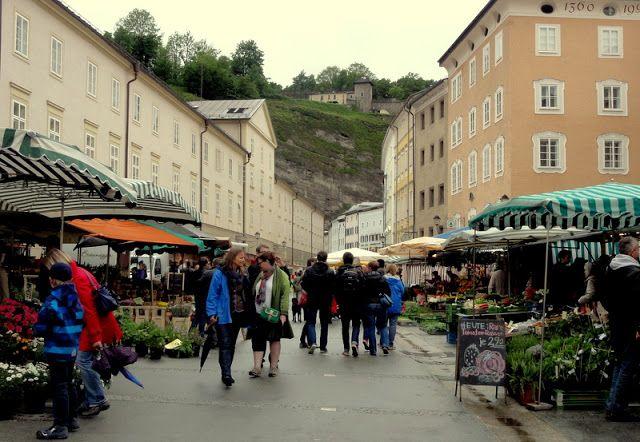 Travel and Lifestyle Diaries Blog: Austria: Salzburg - Grunmarkt