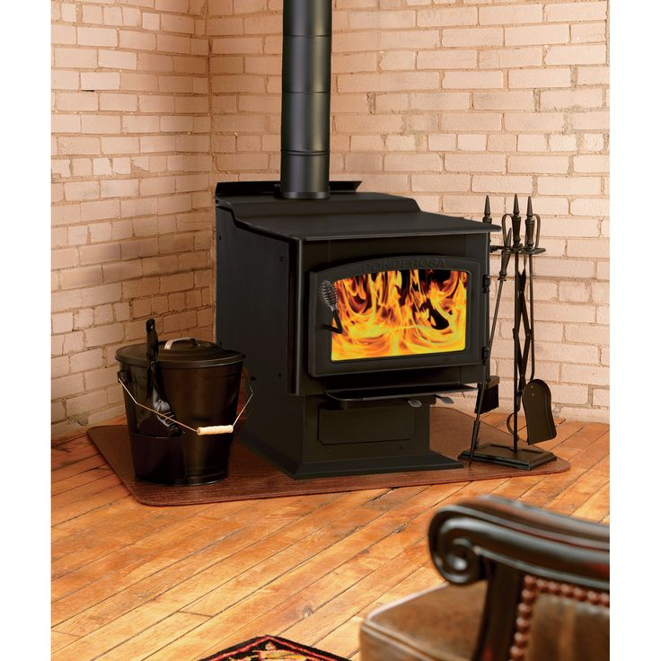 Vogelzang Ponderosa High Efficiency Wood Stove Is A That Provides Up