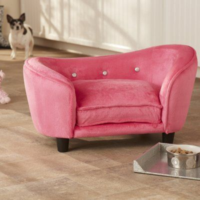 Pink dog bed. I need this for Chani. #dogs