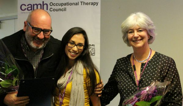 OTs at CAMH help people to recover and stay well by supporting them while they engage in meaningful occupations in life (Self-care, Leisure, and Productivity).