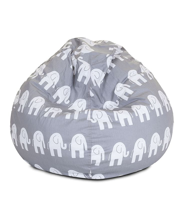 Gray Ellie Beanbag Chair For Kids Kids Bean Bag Chair