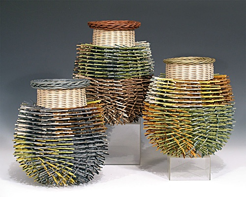The Art Of Basketry By Kari Lonning : Images about basket artists functional on