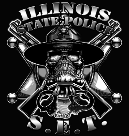 Illinois State Police Shirts $19.95  Wonder who pinned this?