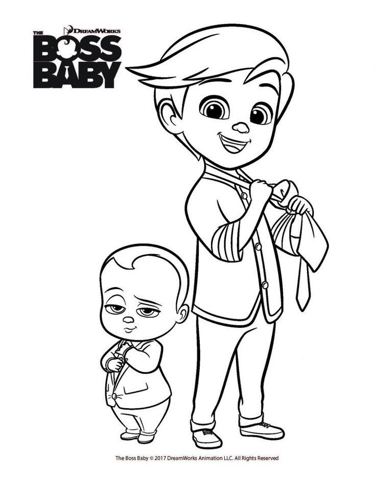 Boss Baby Coloring Pages To Print Blog