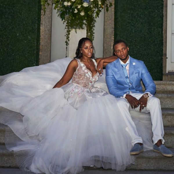 10 Years And Going Strong Remy Ma And Papoose Renew Their Wedding Vows Bellanaija Dream Wedding Dresses Wedding Dresses Wedding